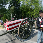 The Lorain County Historical Society's truck pulled a caisson and and Civil War 6-Pound Cannon field piece in the parade. More American soldiers lost their lives in that conflict than all ot …