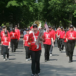 The Elyria Alumni Band marched and played in the Memorial Day Parade.   photo  by Chuck Humel