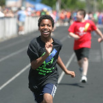 C.J. Martin, Special Olympian.   photo  by Chuck Humel