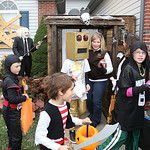 Rodger Deering, 35 of 420 Alexis in Elyria has one of the most popular haunts in Elyria. More kids pass by the house than actually approach it for candy. These brave kids file away with thei …