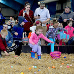 The annual Easter Egg Hunt at North Park Ice Arena took place on Saturday morning. KRISTIN BAUER/CHRONICLE