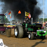 Chris Weidinger, of Attica, Ohio, competes in the Tractor Pull. KRISTIN BAUER | CHRONICLE