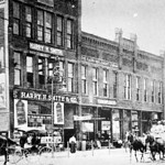 Circa 1900: Harry Smith, a furniture store and farm implement establishment. (Photo courtesy of the Lorain County Historical Society.)