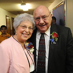 Rev. Ray and Brooks Carpenter at a retirement party after 44 years at Faith Baptist Church in North Ridgeville on Mar. 9.