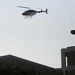 An Air Evac Lifeteam helicopter leaves Scott & White Memorial Hospital in Temple, Texas, after transporting a victim of the shooting at Fort Hood in Killeen, Texas, Thursday, Nov. 5, 2009. ( …