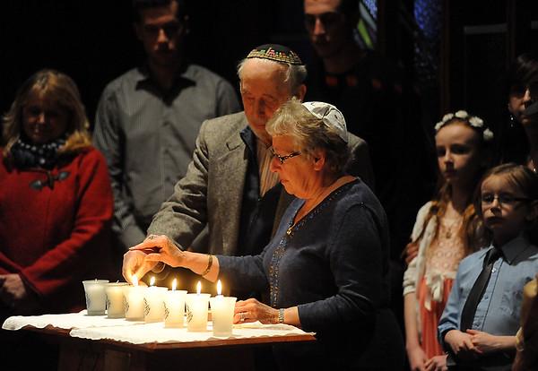 Holocaust remembrance ceremony