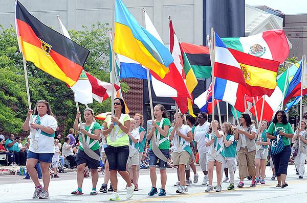 International Festival Parade