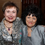 From left, 1997 Living Angel Madeline Zaworski and 2012 Living angel Marge Daidone, of Amherst. Photo by Tom Mahl