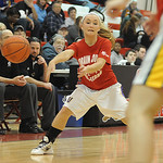 AuBree LaForce of Vermilion passes the ball in game 2 of Lorain County All Star girls basketball Mar. 19. Steve Manheim
