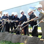 Ground is broken for the building of the new Lorain High School at a groundbreaking ceremony on Oct. 24.  Steve Manheim
