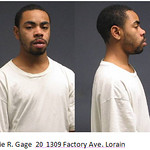 Eddie R. Gage, 20, of 3309 Factory Ave., Lorain.