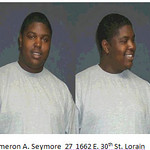 Cameron A. Seymore, 27, of 1662 E. 30th St., Lorain.