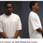 Jason R. Fowler, 24, or 3535 Toledo Ave., Lorain.