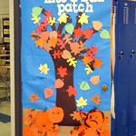 A door on display at Midview Middle School Oct. 28.   Steve Manheim