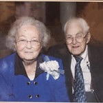 10NOV10 William and Jeanne in their later years.   William Petroff, a widower who sits by his wife Jeanne's grave every day, took the CT through decades of memorabilia in his N. Ridgeville h …