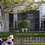 Tiger Woods' home in the Isleworth community as seen from Lake Isleworth in Windermere, Fla., Wednesday, Dec. 2, 2009 (AP Photo/John Raoux)