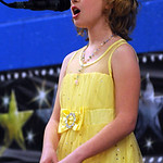 "Alexis Napier, a fourth grader at Windsor Elementary, sings ""Summertime"" in the qualifiying round of the Windsor Talent Show, sponsored by the Windsor PTA, at Windsor Elementary on Apr. 14.  …"