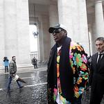 Vatican Pope Rodman