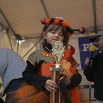 Anna Spanos, 5, of Elyria was named woolly bear queen at  the 40th Annual Woolly Bear Festival in Vermilion.