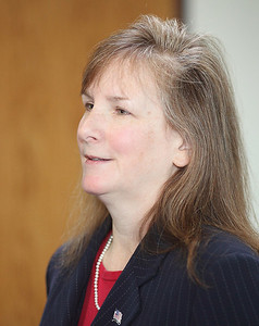 Judge Lisa Swenski closeup. photo by Ray Riedel