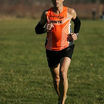 Vince Maloney, formerly of Amherst, wins the LCCC Turkey Trot 10k race in 36:35. photo by Ray Riedel