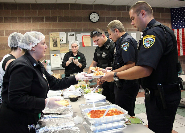 Olive Garden Police Free Lunch