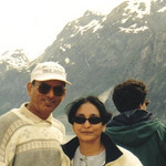 D.C. and Minal Patel on Alaskan cruise in 2000.