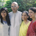 The Patel family, 2006, at home in Elyria.
