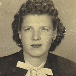 Eva Mae Fisher in the mid-1940s.