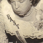 Eva Mae Pugh, shown blowing out candles on a cake at a TOPS (Take Off Pounds Sensibly) celebration in the 1960s, lost more than 100 pounds as a result of the TOPS weight-loss program. Her we …