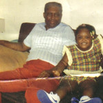 Sylvester Cooper with granddaughter Brittany.