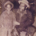Sylvester Cooper and his son, Charles, 1961.