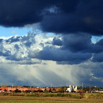 Dramatic sky after rain off Bender Road in North RIdgeville on Oct. 23.  Steve Manheim