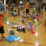 Children of all ages had the opportunity to create their favorite characters using paper bags and other crafting items during Elyria Park's Reach and Rise Discovery Camp at East Recreation C …