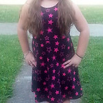 Mackenzie is ready for her first day of fifh grade at Oakwood Elementary.