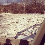 Cassandra Stout shared this photo of the flooding on Feb. 21.