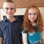 """I am most thankful for my beautiful kids, Landon Horner, 8; and Lilly Horner, 6. I don't know what I would do without them."" -Michele Horner of Lagrange"