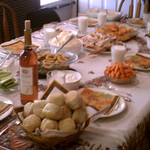 """""""I am most thankful for being able to have Thanksgiving dinner with my family this year."""" -Karie Spaetzel, C-T web editor"""