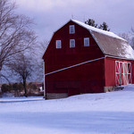 Jeanne Buttle Williams shared a photo of the Sugar Ridge barn in North Ridgeville, made more picturesque by the snow.