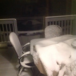 Sherry Barker took this picture of her back porch near Elyria on Nov. 11, 2013.