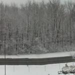 Joe Arizmendi shared this panoramic of the snow in Sheffield Lake on Feb. 5.