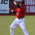 Crushers shortstop Juan Sanchez makes the grab to get the force out at second. CHRISTY LEGEZA/CHRONICLE