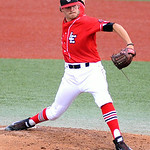 Lake Erie Crushers' Zac Treece pitches against the Windy City ThunderBolts. KRISTIN BAUER   CHRONICLE