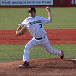 Crushers Matt Rein pitches. CHRISTY LEGEZA/CHRONICLE