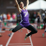 Hannah Bartlome of Vermilion places 2nd in long jump in the OHSAA state championship. photo by Ray Riedel