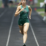 EC's Sara Lehman placed 5th in the 400m finals at the Division II Regional championships in Lexington. photo by Ray Riedel