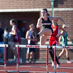 Jenna Quillen Hurdles PAC Track Meet 2013