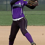 Vermilion's starting pitcher #5 Jessica Tucker.