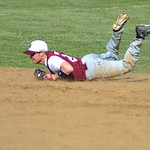 Wellington short stop Robbie Bliss dives for a ball.  KRISTIN BAUER | CHRONICLE