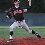 Buckeye's Eli Krauss pitches against Keystone. KRISTIN BAUER | CHRONICLE